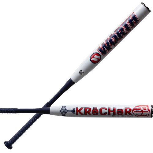 "2021 Worth Krecher XL Ryan Harvey 13.5"" USA/ASA Slowpitch Softball Bat WRH21A"