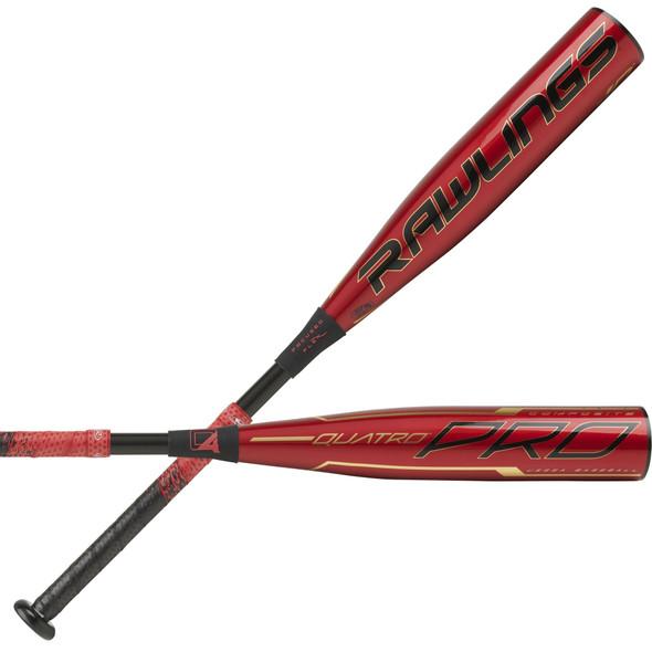 2020 Rawlings Quatro Pro -10 USSSA Senior Youth Baseball Bat UTZQ10
