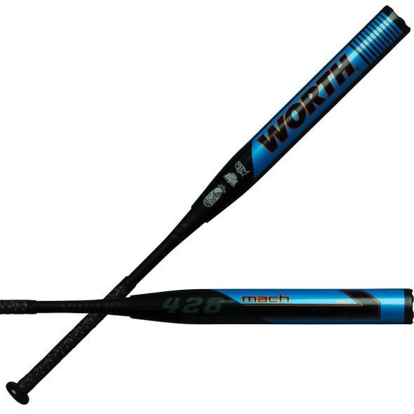 2020 Worth MACH 1 CJ 428 XL RELOAD USSSA Slowpitch Softball Bat WM20MU