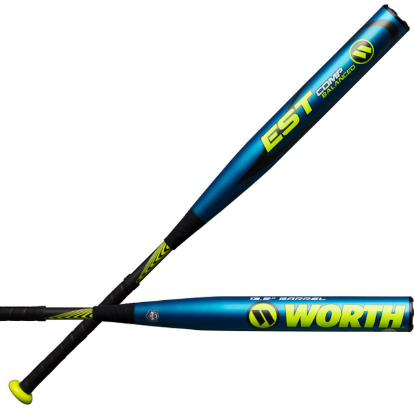 2018 Worth EST COMP Balanced ASA Slowpitch Softball Bat WCESBA