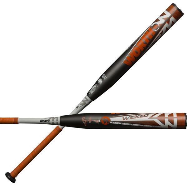 2019 Worth Wicked XL USSSA RYAN HARVEY Slowpitch Softball Bat WKRHMU