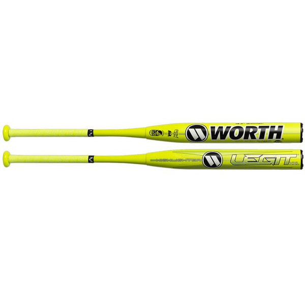 2020 WORTH LEGIT XXL HIGHLIGHTER USSSA 13.5 INCH SLOW PITCH SOFTBALL BAT: WHS14U