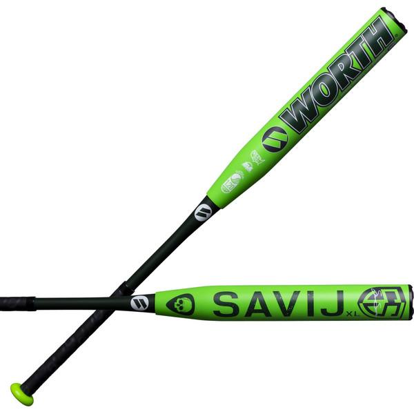 """2020 Worth Savij 12.5"""" XL USSSA Slowpitch Softball Bat WSS20U"""