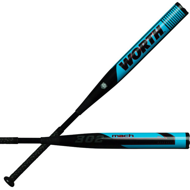 2020 Worth MACH 1 BS 302 BALANCED ASA Slowpitch Softball Bat WM20BA