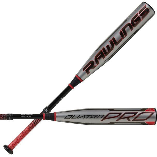 2021 Rawlings Quatro Pro -10 Youth USA Baseball Bat US1Q10