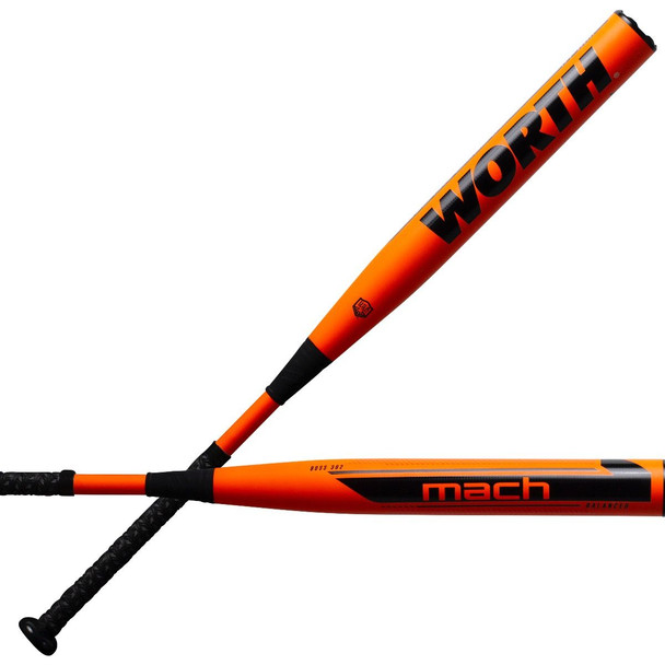 "2021 Worth Mach 1 Balanced 13.5"" USA/ASA Slowpitch Softball Bat WM21BA"