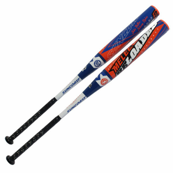2021 Suncoast Melee Reloaded 2 Senior Softball Bat 1pc 12″ End Load SMR2E12