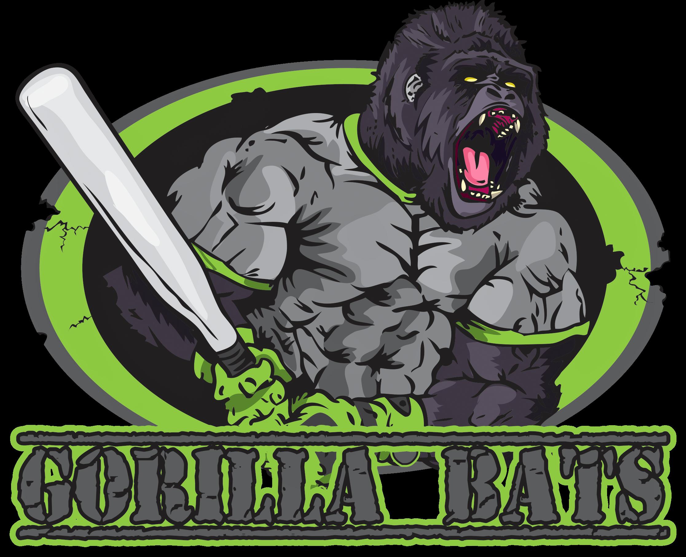 Shaved and Rolled Baseball Softball Bats - Gorilla Bats