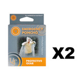 UST Brands Emergency Poncho (2 Pack)