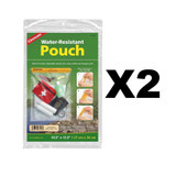 """Coghlan's Water Resistant Pouch 10 1/2"""" x 13 1/2"""" (2 Pack)"""