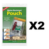"""Coghlan's Water Resistant Pouch 5"""" x 7"""" (2 Pack)"""