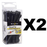 "Nite Ize Gear Tie ProPacks 3"" Black (2-Pack of 24)"