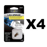 Nite Ize LED Upgrade Kit for most C or D Cell Flashlights (4-Pack)