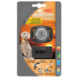 Adventure Lights Guardian Trident Dog Collar Light, White