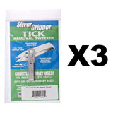 Uncle Bill's Sliver Gripper - Stainless Steel Keychain (3-Pack)