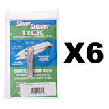 Uncle Bill's Sliver Gripper - Stainless Steel Keychain (6-Pack)