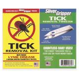 Uncle Bills Sliver Gripper Tick Removal Kit: Tweezers Lens & Antiseptic(12-Pack)