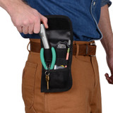 Nite Ize Clip Pock-Its XL Utility Holster Rugged Multi-Tool Pouch (2-Pack)