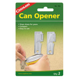Coghlan's G.I. Can Openers 2-Pack Compact Pocket-Sized Nickel-Plated (12-Pack)
