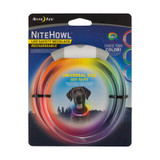 Nite Ize NiteHowl LED Safety Necklace Disc-O-Select Rechargeable Collar (3-Pack)