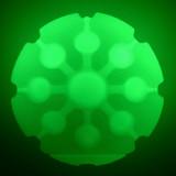 Nite Ize GlowStreak LED Ball Disc-O Glowing Waterproof Fetch Dog Toy (2-Pack)