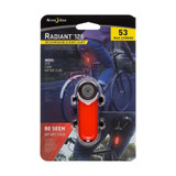 Nite Ize Radiant 125 Rechargeable Bike Light, Red 53 Lumens Safety (3-Pack)