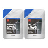 Gear Aid Revivex Wetsuit & Drysuit Shampoo 10oz Safely Cleans Neoprene (2-PACK)