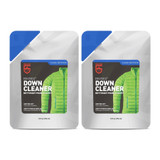 Gear Aid Revivex Down Cleaner 10oz Safely Cleans Down Gear Vests (2-Pack)