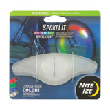 Nite Ize SpokeLit Rechargeable Wheel Light Disc-o Select
