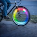 Nite Ize SpokeLit Rechargeable Wheel Light Disc-o Select