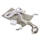 Lewis N. Clark Portable Immersion Heater, Electric Kettle with Travel Adapter