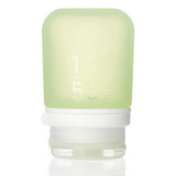 humangear GoToob+ Silicone Squeeze Bottle Small (1.7oz|44ml), Green - Food Safe