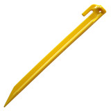 """Coghlan's ABS Tent Peg 12"""" Yellow Plastic Rugged Non-Slip Tent Stake SINGLE"""