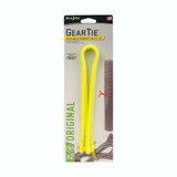 """Nite Ize Gear Tie 18"""" Yellow 2-Pack Reusable Rubber Twisty Ties Durable Organize"""