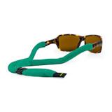 Croakies Cotton Suiter Emerald Green Regular Adjustable Secure Eyewear Retainer