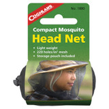 Coghlan's Compact Mosquito Head Net - Polyester 220 Holes/in Lightweight Compact