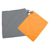 UST Brands Pack A Long Lightweight/Long-Lasting Camping Towel Set with Carabiner