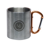 UST KLIPP Stainless Steel Double-Walled Insulation 1.0 Camp Biner Mug (4-pack)