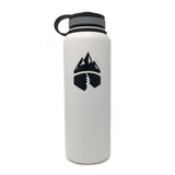 Campsite Essentials Wide Mouth Insulated Stainless Steel Water Bottle, 40oz