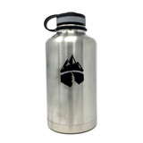 Campsite Essentials Wide Mouth Insulated Stainless Steel Water Bottle, 64oz