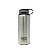 Campsite Essentials Wide Mouth Insulated Stainless Steel Water Bottle, 32oz