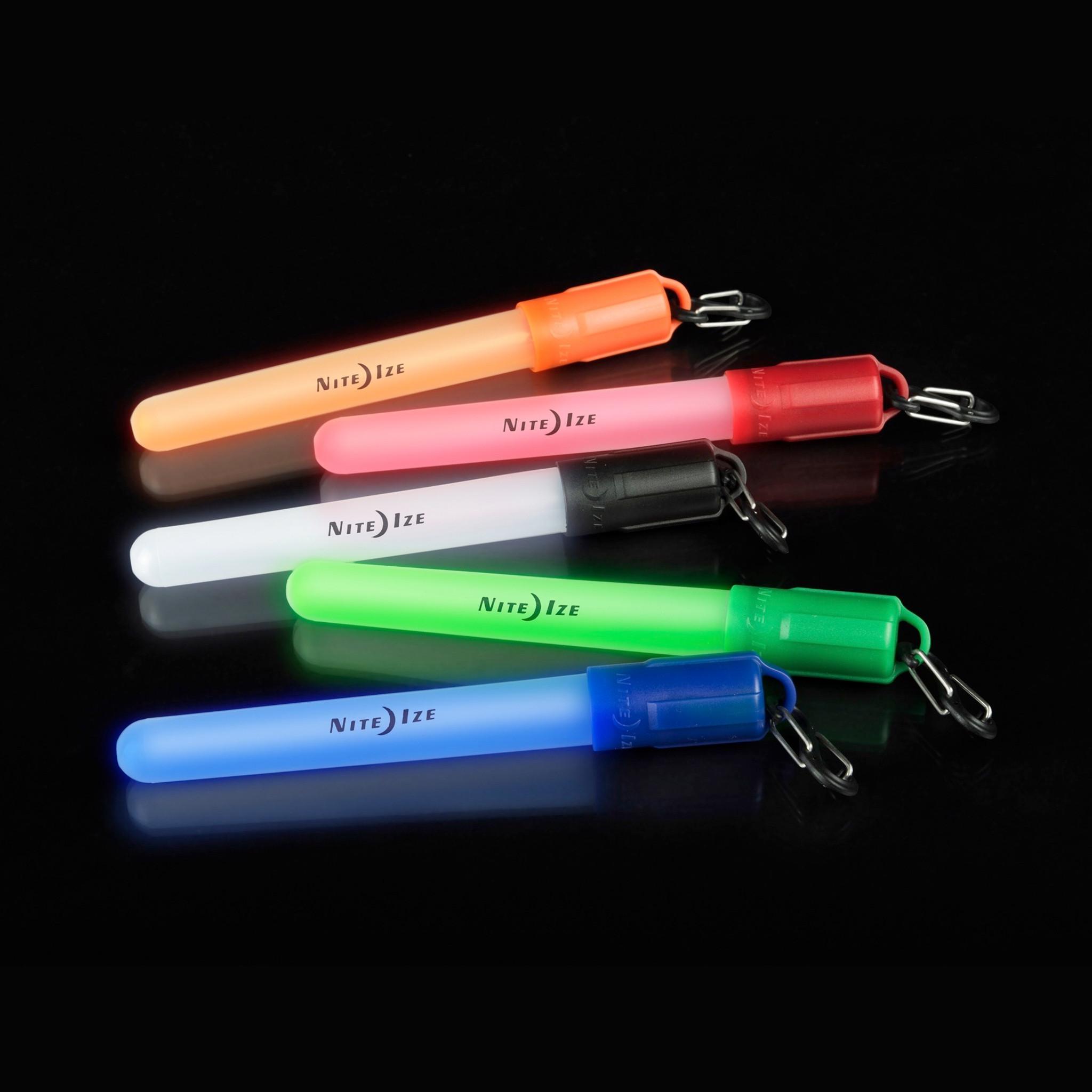 Nite Ize LED Mini Glowstick Waterproof Lightstick Safety Light Four colors