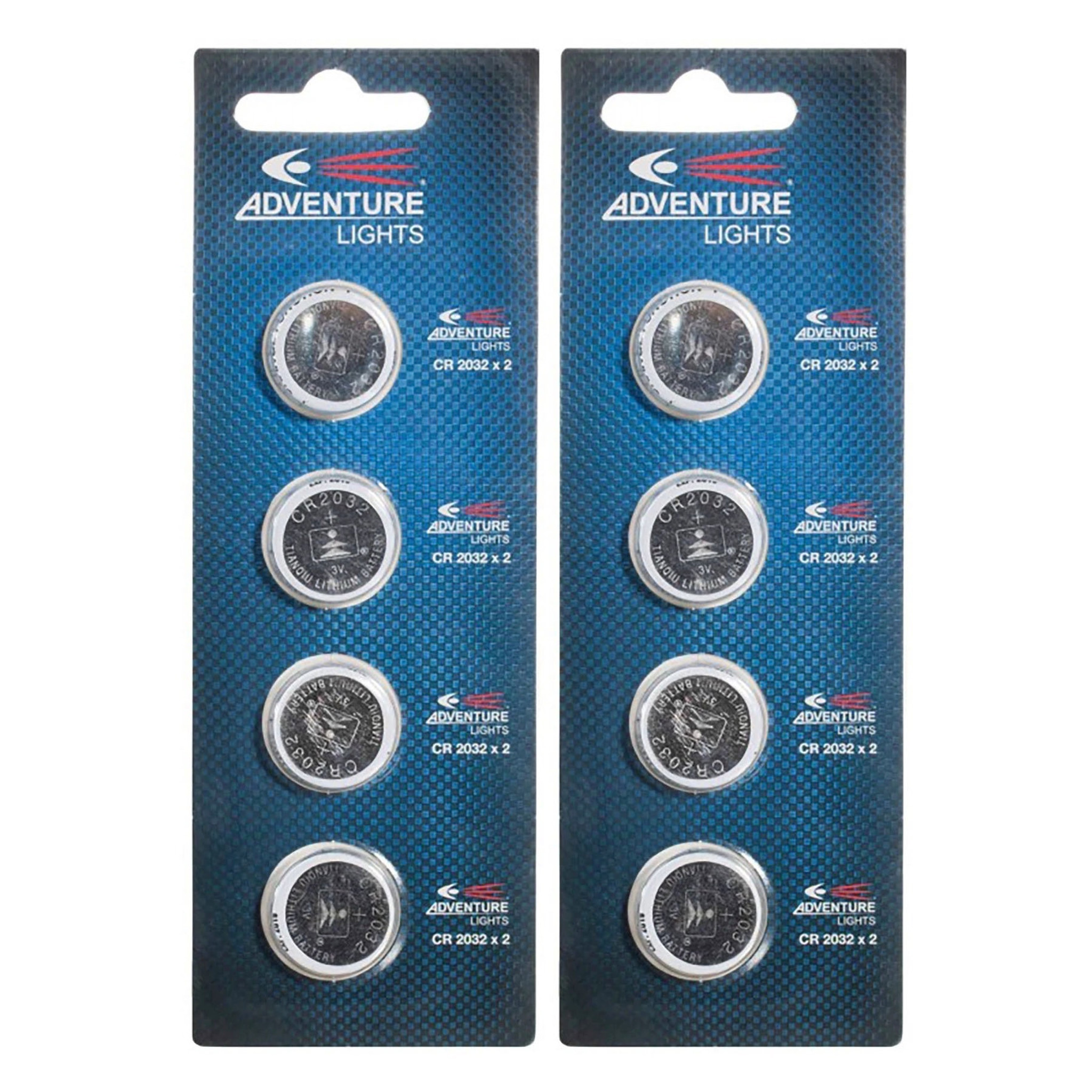 Pack For Guardian /& Trident Adventure Lights CR-2032 Lithium Cell Batteries 4
