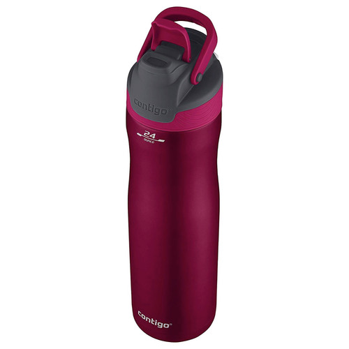 Contigo AUTOSEAL Chill Stainless Steel Water Bottle Very Berry 24oz