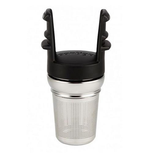 Contigo West Loop Tea Infuser For Travel Mug Grayed Jade Green Steel (2-Pack)