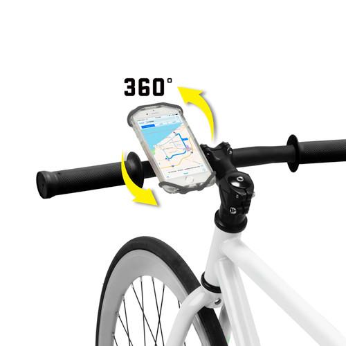 Nite Ize Wraptor Rotating Smartphone Bar Mount Black Phone Holder Bike (6-Pack)