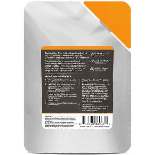 Gear Aid Revivex Wash-In Water Repellent 10oz Restores Water Repellency (2-PACK)