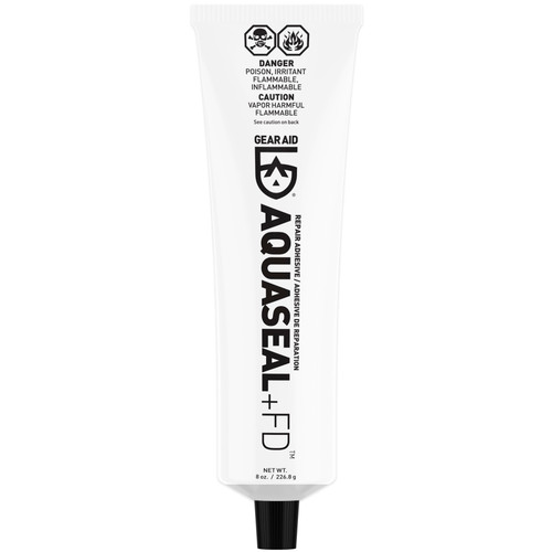 Gear Aid Aquaseal FD Repair Adhesive 8 oz Urethane Sealant For Wetsuits (2-PACK)