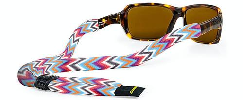 Croakies Croakeis Printed Suiter Ziggy XL Polyester Adjustable Eyewear Retainer