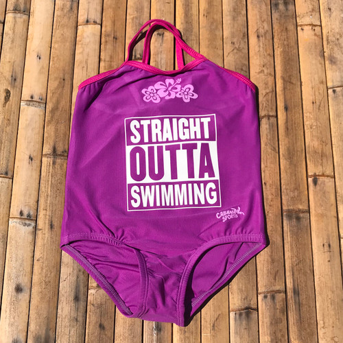 Straight Outta Swimming Swimsuit